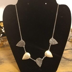 Lucky Brand gold and silver necklace